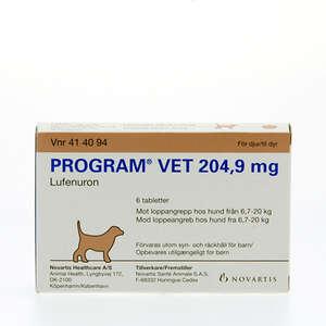 Program vet 204,9 mg 7-20 kg