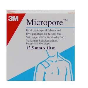Micropore 3M 1,25 cm x 10 m
