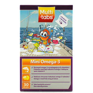 Multi-tabs Mini Omega-3