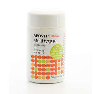 Apovit Multi Tygge Appelsin