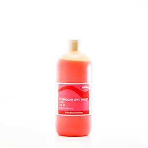 Klorhexidin Farvet Sprit 0,5 %