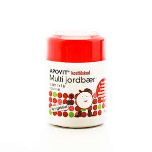 Apovit Multi Jordbær