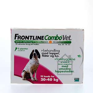 Frontline combo hund 20-40 kg