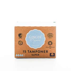 GingerOrganic Tampon Super
