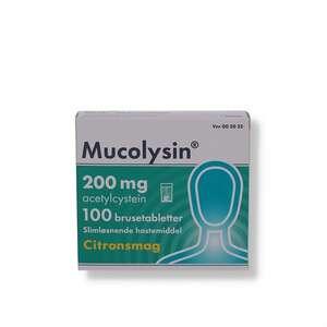 Mucolysin 200 mg