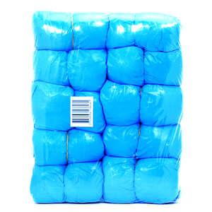 Skoovertræk blå plast