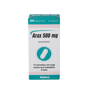 Arax 500 mg