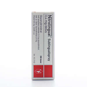Nitrolingual spray 0,4 mg/dos