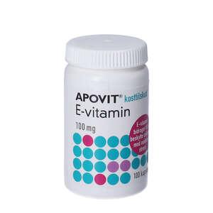 Apovit E-vitamin kapsler