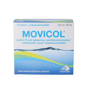 Movicol breve til oral opløsning