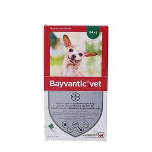 Bayvantic Vet. Opløsning Hund op til 4 kg