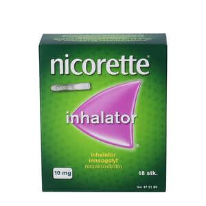 Nicorette 10 mg inhalatorer refill 18 stk