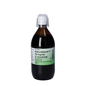 Kaliumklorid 75 mg/ml 500 ml