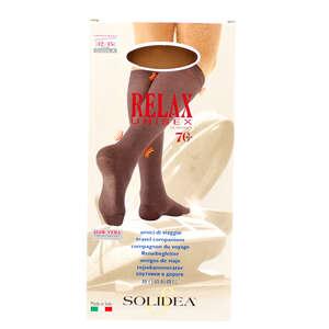 Solidea Relax Unisex 70 Knæstrømpe (L/Camel)