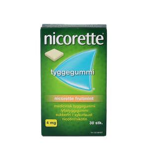 Nicorette fruitmint 4 mg 30 stk