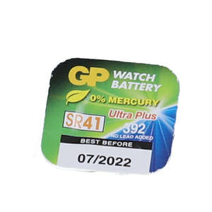 GP 392 Sølvoxid batteri