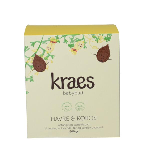 KRAES Babybad Havre & Kokos (600 g)