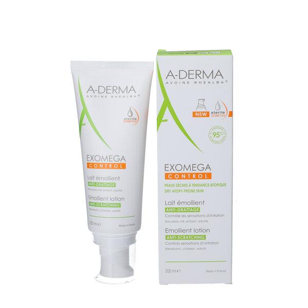 A-Derma Exomega Control Emollient Lotion (200 ml)