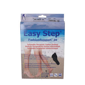 Easy Step FashionSupport Graviditetsbuks (Sort/XXL)