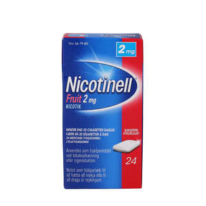 Nicotinell Fruit 2 mg 24 stk