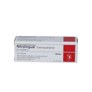 Nitrolingual spray 0,4 mg/dos