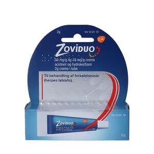 Zoviduo creme 2 g