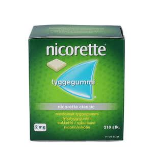 Nicorette Classic 2 mg 210 stk