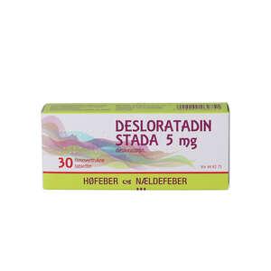 "Desloratadin ""Stada"" 5 mg 30 stk"
