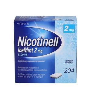 Nicotinell IceMint 2 mg 204 stk