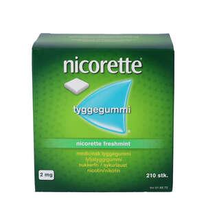 Nicorette Freshmint 2 mg 210 stk