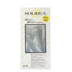 Solidea Relax Unisex Therapeutic Strømpe (XL+/sort/lukket)