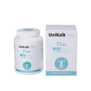 Unikalk Plus Tabletter (180 stk)