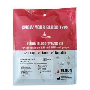Eldoncard Blodtypetest