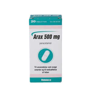 Arax 500 mg 20 stk
