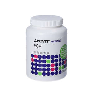 Apovit 50+ Multivitaminer (200 stk)