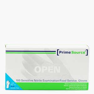 PrimeSource Sensitive Nitrile Handsker (L)