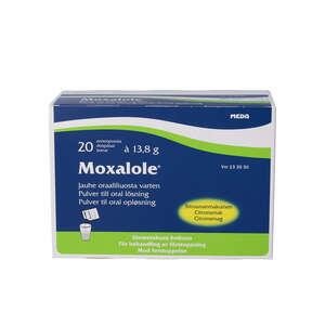 Moxalole pulvere til oral opløsning 20 stk
