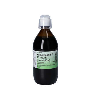 Kaliumklorid 75 mg/ml 500 ml