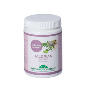 Baldrian-Humle tabletter