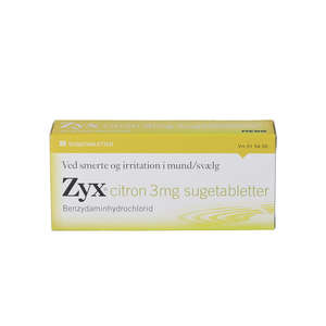 Zyx citron 3 mg