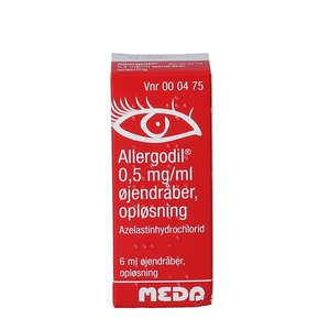 Allergodil 0,05% øjendråber