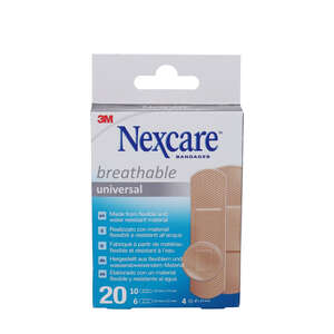 Nexcare Breathable Universal Bandages