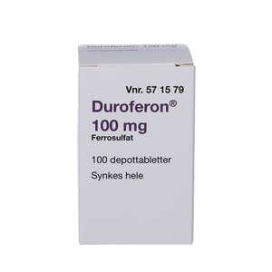 Duroferon 100 mg (2C4) 100 stk