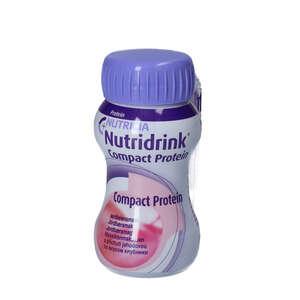 Nutridrink Compact Protein Jordbær