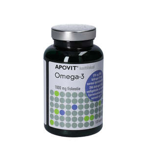 Apovit Omega-3 Kapsler (120 stk)
