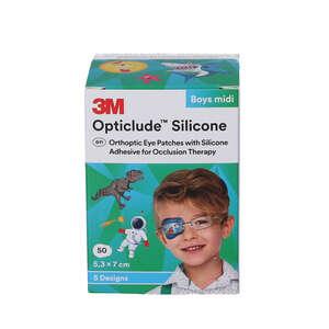3M Opticlude Silicone Skeleplaster (midi/dreng)