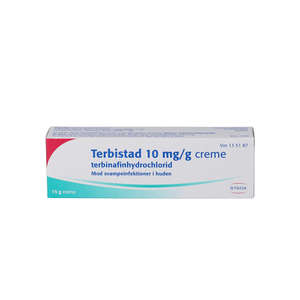 Terbistad creme 10 mg/g