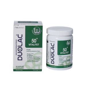 Duolac 50+ Vitalitet Kapsler
