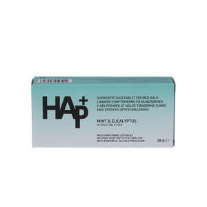 HAp+ Mint & Eucalyptus Sugetabletter