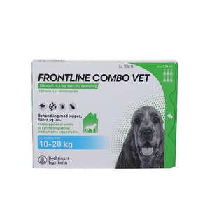 Frontline Combo Vet. (hund 10-20 kg) 6 stk
